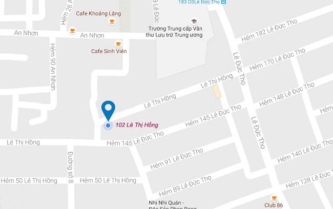 Địa chỉ cửa hàng áo dài Hạnh đường Lê Thị Hồng - Gò Vấp