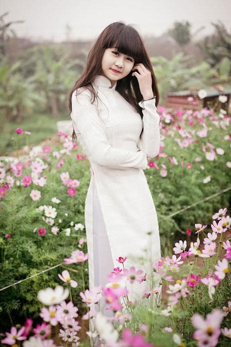 Áo dài nữ sinh đẹp 01