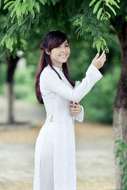 Áo dài nữ sinh đẹp 03