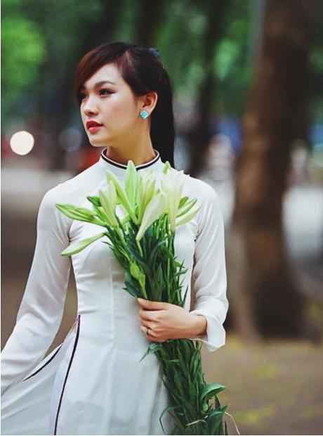 Áo dài nữ sinh đẹp 04
