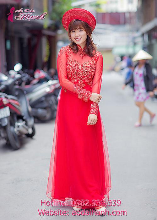 Áo dài cưới của những đôi uyên ương 3