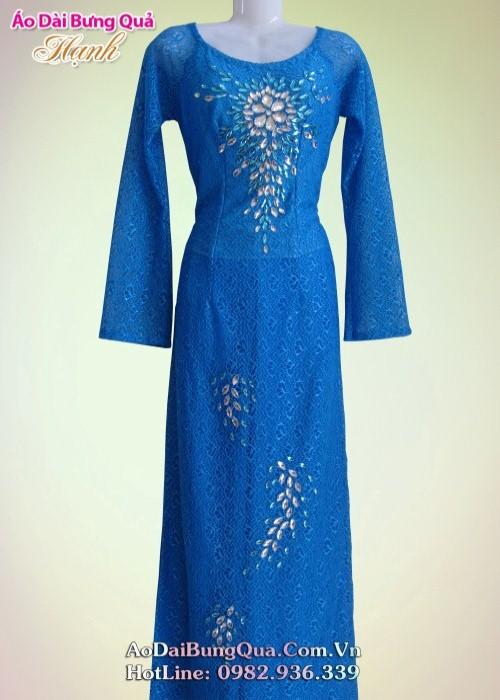 áo dài đẹp cho phụ nữ trung niên 1