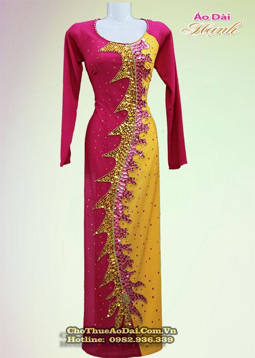 Áo dài đẹp cho phụ nữ trung niên 2