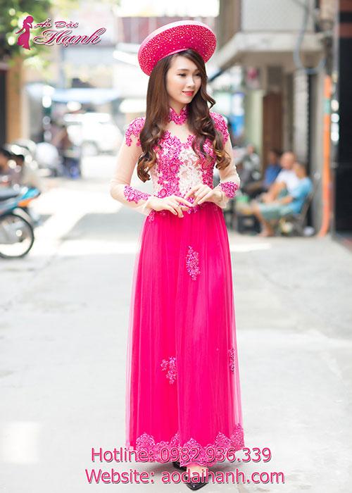 Cho thuê áo dài cô dâu 3