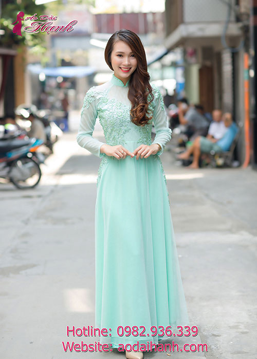 Cho thuê áo dài cô dâu 4