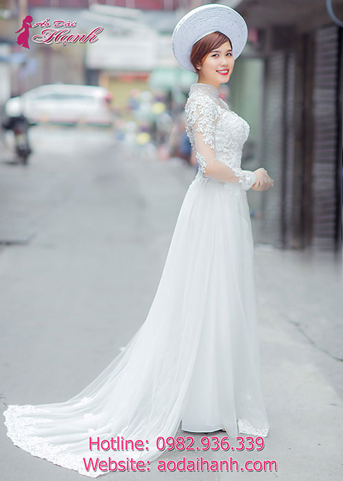 Chọn áo dài cưới 2