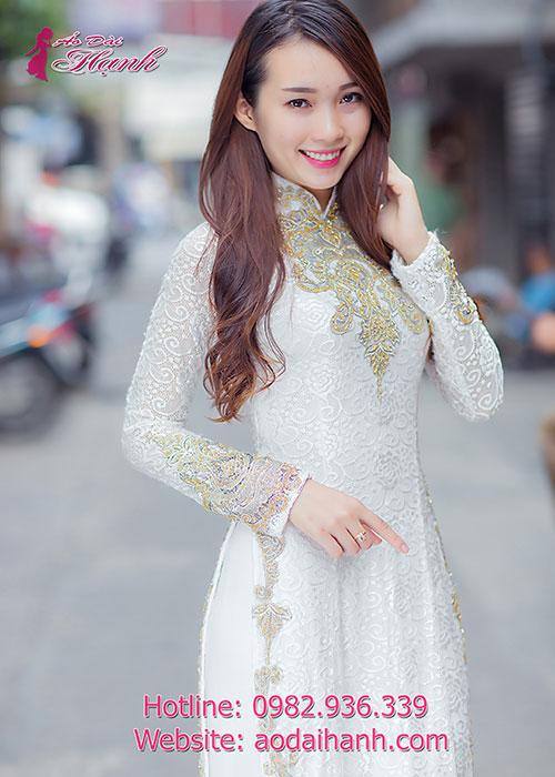 Chọn áo dài cưới 4