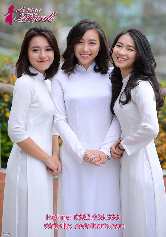 May áo dài học sinh 4