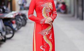 Áo dài cô dâu 2