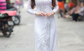 Áo dài trắng nữ sinh 4