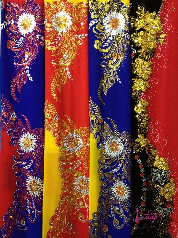 Rất nhiều vải để lựa chọn may áo dài