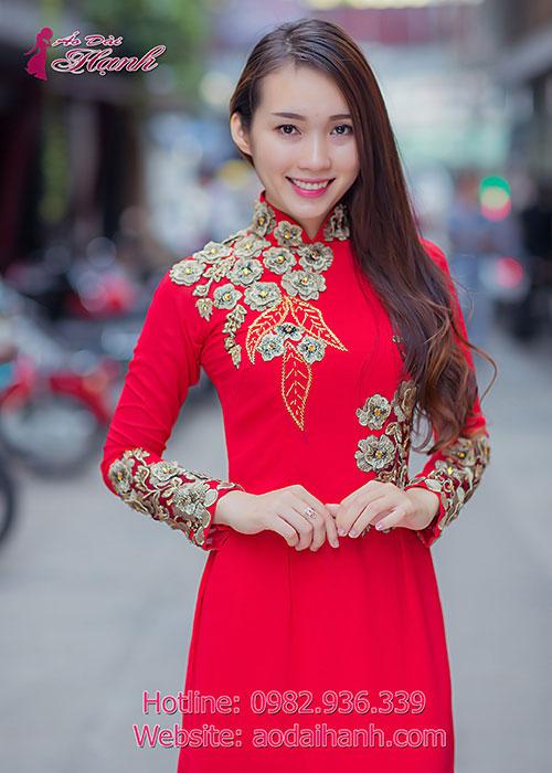 Nên thuê hay may áo dài cưới 04