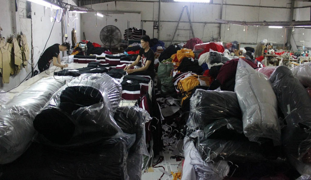 Xưởng may áo thun đồng phục 07