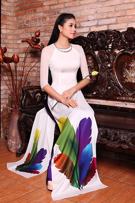 Áo dài in 3D vẻ đẹp truyền thống và hiện đại 01