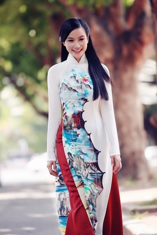 Áo dài in 3D vẻ đẹp truyền thống và hiện đại 05