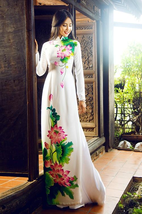 Áo dài in 3D vẻ đẹp truyền thống và hiện đại 03