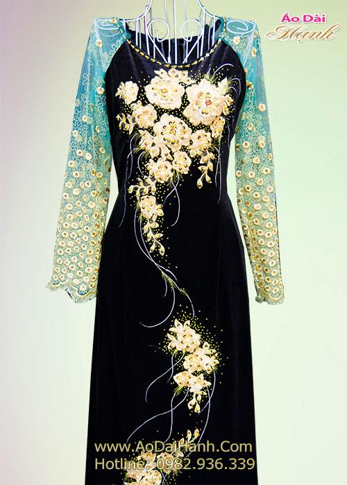 May áo dài trung niên 06