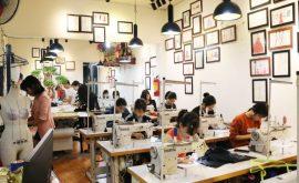 Nhận đào tạo học viên may áo dài