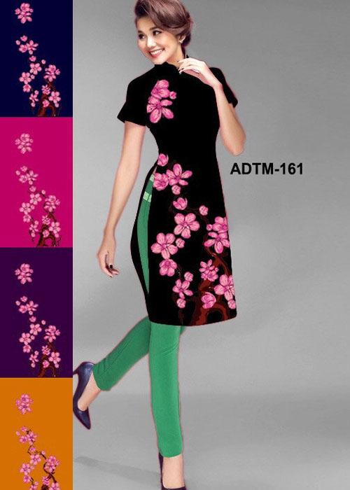 Vải áo dài cách tân in 3D in 3D mã số ADTM-161