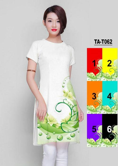 Vải áo dài cách tân in 3D in 3D mã số TA-T062