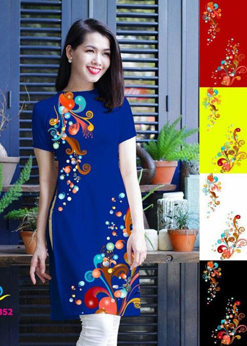 Vải áo dài in 3D đẹp ở Sài Gòn 01Vải áo dài in 3D đẹp ở Sài Gòn 01