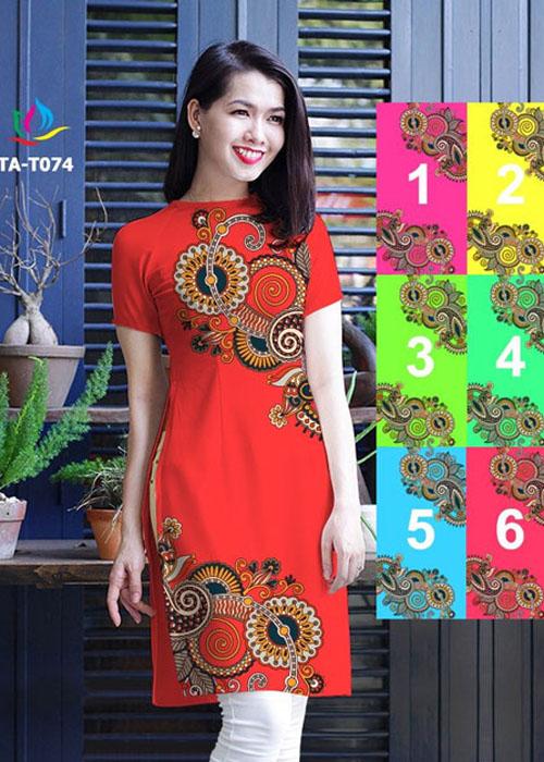 Vải áo dài in 3D đẹp ở Sài Gòn 04