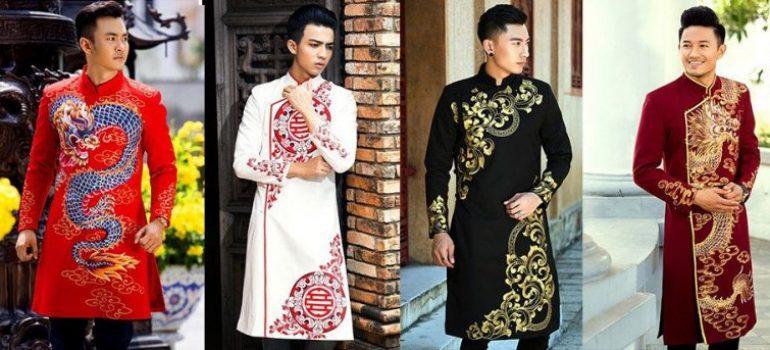 May áo dài nam đẹp tại TPHCM