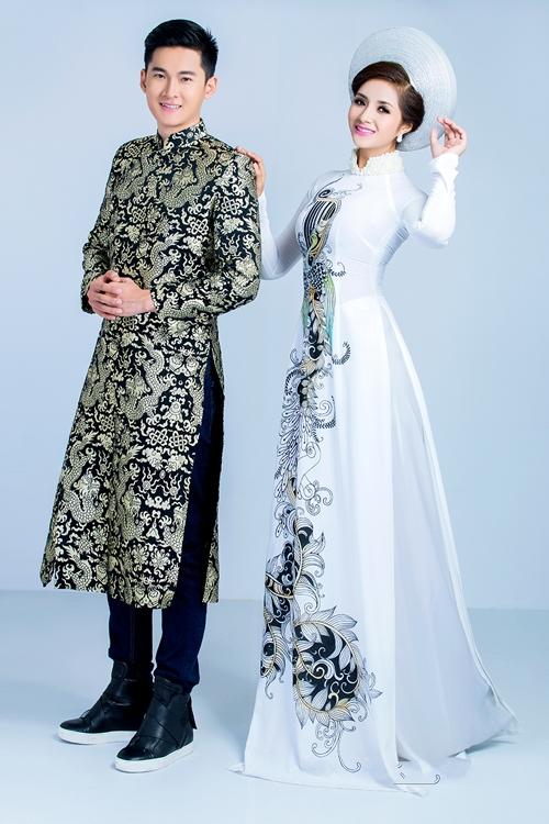 Top 10 mẫu áo dài nam dành cho chú rể 07