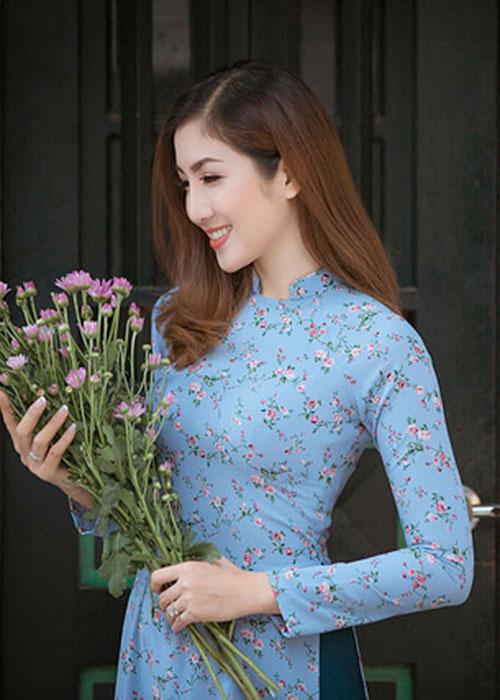 Áo dài Cô Ba Sài Gòn mẫu số 7