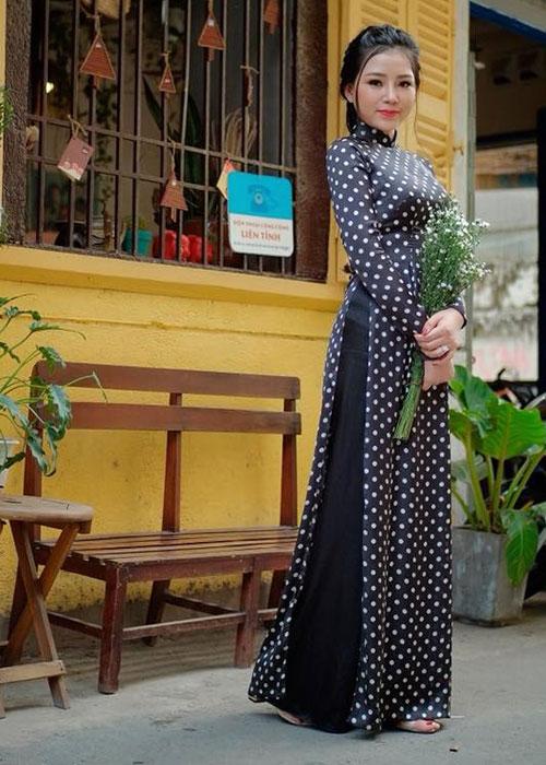 Áo dài Cô Ba Sài Gòn mẫu số 8