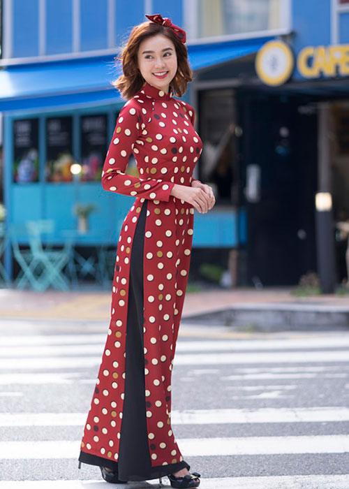 Áo dài Cô Ba Sài Gòn mẫu số 12