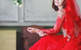 áo dài cưới của giới trẻ