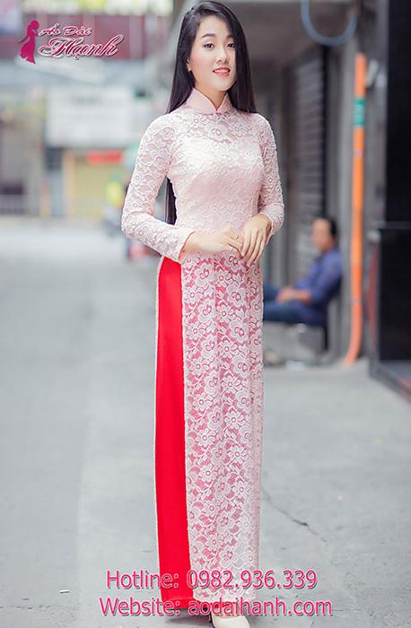 Hình ảnh chiếc áo dài hiện đại của phụ nữ Việt Nam