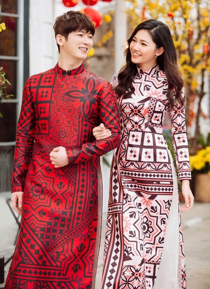Áo dài được mặc nhiều trong dịp lễ Tết