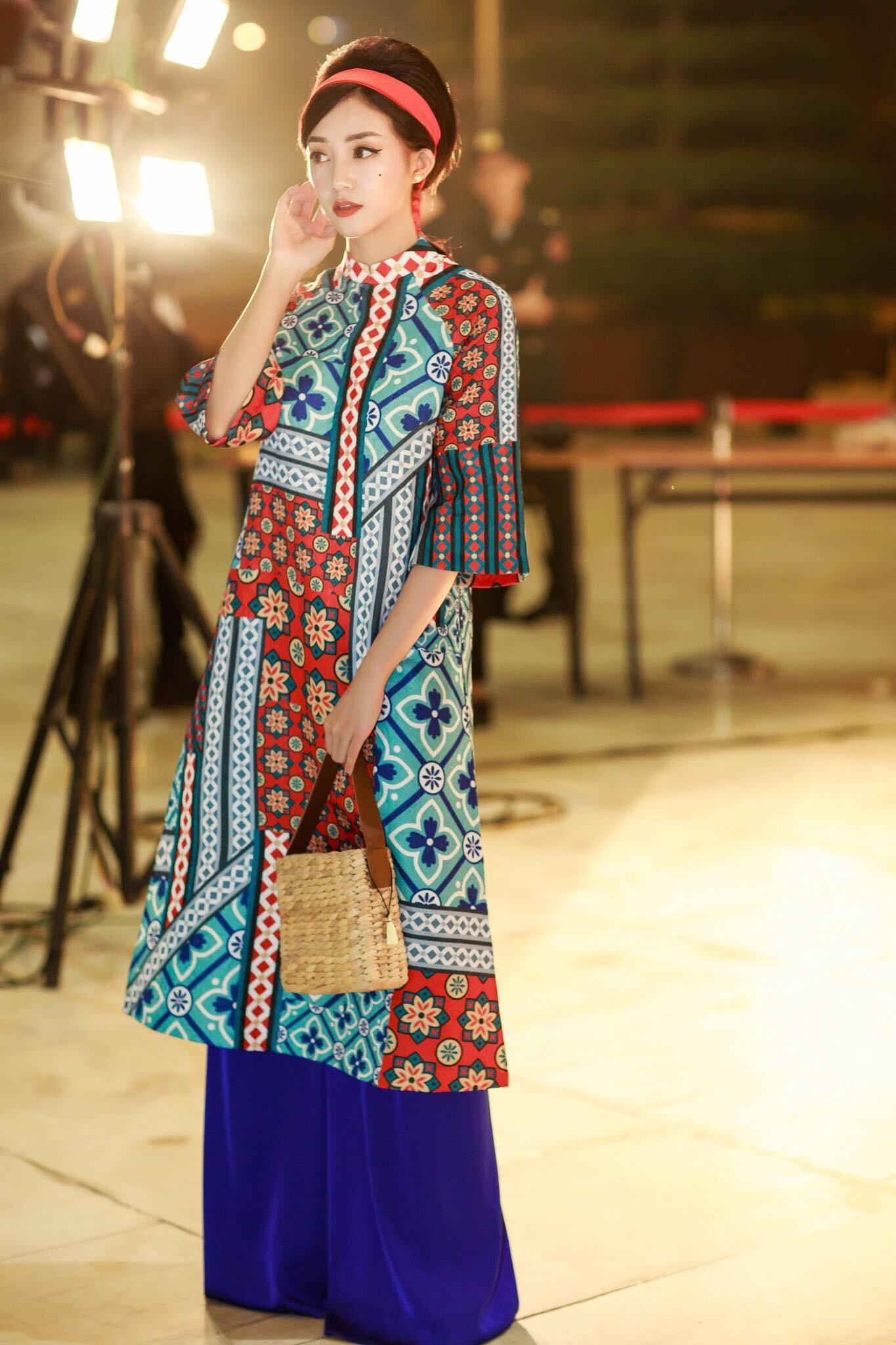 Áo dài mỏng, vải voan thích hợp với hầu hết các dáng người
