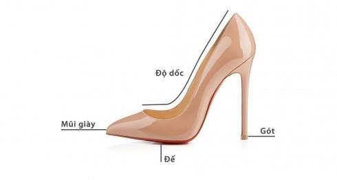 Giày cao gót – lựa chọn hàng đầu giữa các loại giày mặc áo dài