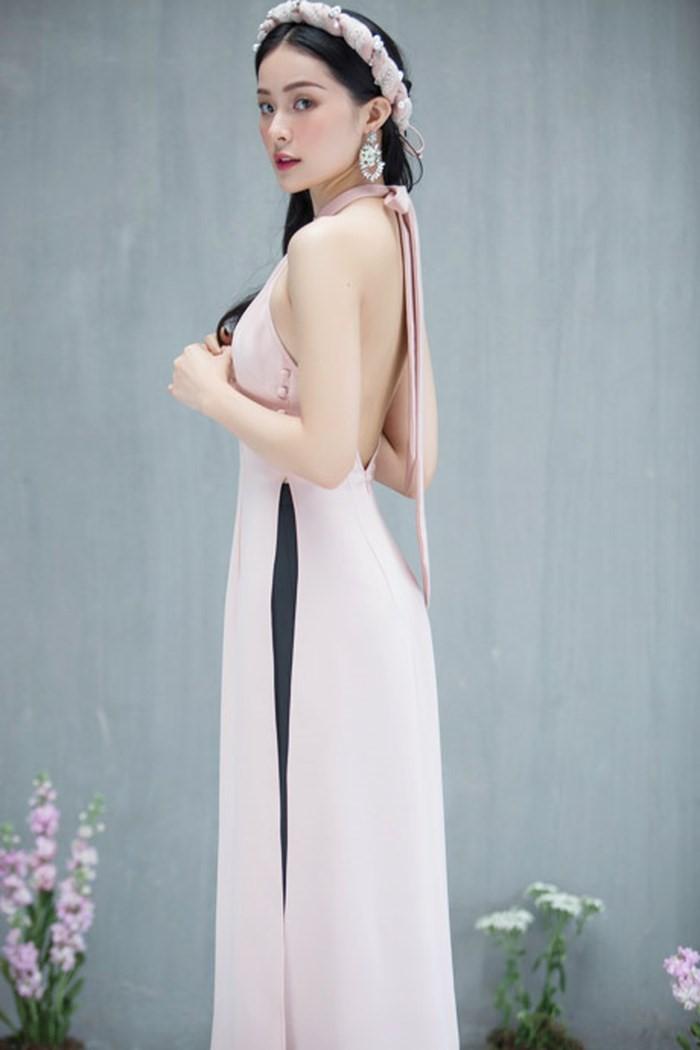 Mẫu thiết kế áo dài lấy cảm hứng từ áo yếm ngày xưa