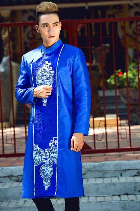 Một số mẫu áo dài cách tân màu xanh ngọc bích tiêu biểu