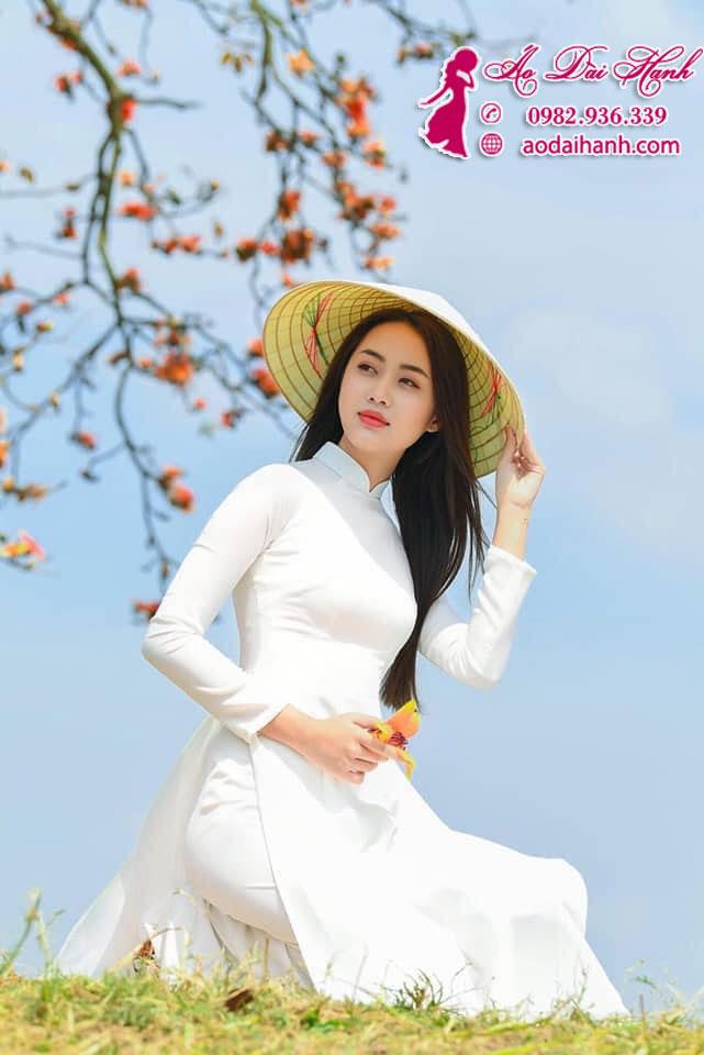 May áo dài học sinh 03